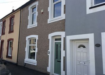 Thumbnail 3 bed terraced house to rent in Bradford Street, Cardiff, South Glamorgan