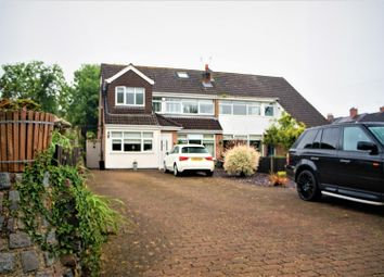 Thumbnail 5 bed semi-detached house for sale in The Green, Anstey, Leicester