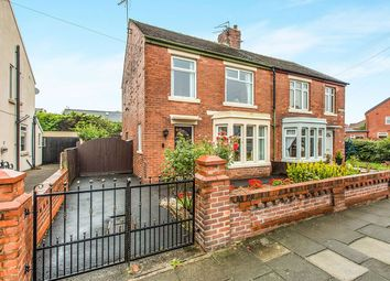 Thumbnail 3 bed semi-detached house to rent in Belvere Avenue, Blackpool