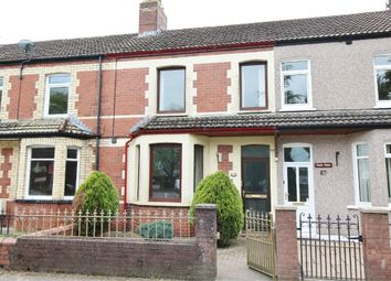 Thumbnail 2 bed terraced house for sale in Oakfield Road, Oakfield, Cwmbran, Torfaen