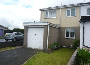 Thumbnail 3 bed semi-detached house to rent in Dale View, Cefn Cribwr, Bridgend.