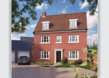 "Thumbnail 5 bedroom detached house for sale in ""The Warwick"" at Needlepin Way, Buckingham"
