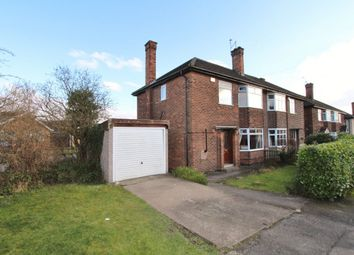 Thumbnail 3 bed semi-detached house for sale in Burnwood Drive, Wollaton, Nottingham