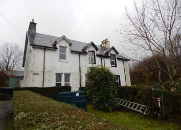Thumbnail 3 bedroom semi-detached house for sale in Carbost, Isle Of Skye