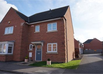 Thumbnail 3 bed semi-detached house for sale in Weavers Avenue, Loughborough