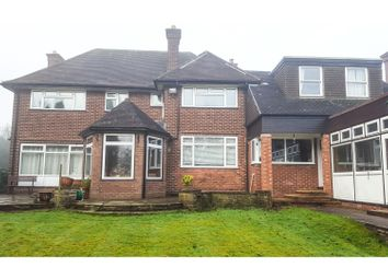 Thumbnail 6 bed detached house for sale in Longwood Road, Walsall