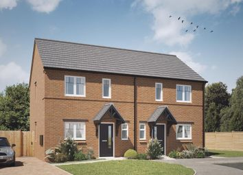 Thumbnail 2 bed semi-detached house for sale in Acresford Road, Overseal, Swadlincote