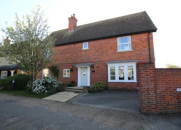 Thumbnail 4 bedroom detached house for sale in Linden End, Haddenham, Ely