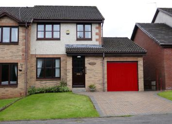 Thumbnail 3 bed semi-detached house for sale in Aurs Glen, Barrhead, Glasgow