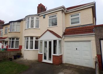 Thumbnail 4 bed semi-detached house for sale in Abbeystead Road, Wavertree, Liverpool, Merseyside
