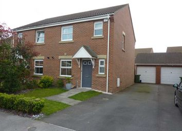 Thumbnail 3 bed semi-detached house for sale in Caspian Crescent, Scartho Top, Grimsby
