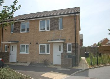 Thumbnail 2 bed semi-detached house for sale in Solebay Way, Gosport