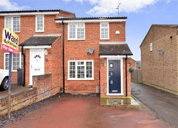 Thumbnail 3 bed semi-detached house for sale in Gatcombe Close, Walderslade, Chatham, Kent