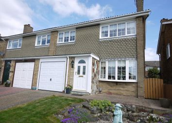 Thumbnail 3 bed semi-detached house for sale in Hammondstreet Road, Cheshunt, Waltham Cross