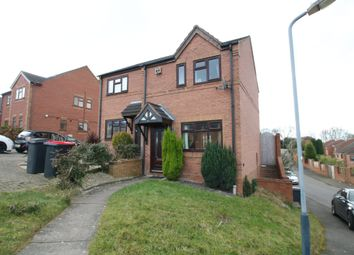 Thumbnail 2 bed semi-detached house for sale in Dexter Way, Birchmoor, Tamworth