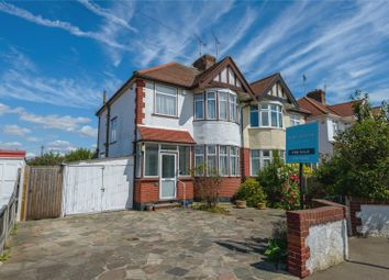 Thumbnail 3 bed semi-detached house for sale in Byrne Drive, Southend-On-Sea, Essex