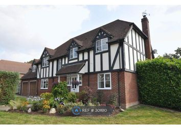 Thumbnail 5 bed detached house to rent in Woolton Lodge Gardens, Nr. Newbury