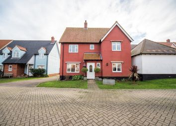 Thumbnail 4 bed detached house for sale in Cherry Tree Close, Yaxley, Eye, Suffolk