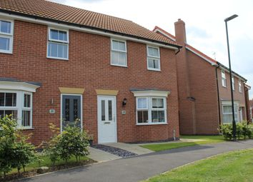 Thumbnail 3 bed semi-detached house for sale in Brocklesby Avenue, Immingham