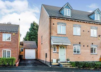 Thumbnail 4 bed semi-detached house for sale in Swan Drive, Kingshurst, Birmingham, West Midlands