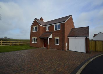 Thumbnail 4 bed detached house to rent in Barley Fields, Rodington, Shrewsbury