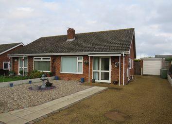 Thumbnail 2 bedroom semi-detached bungalow for sale in Cuckoofield Lane, Mulbarton, Norwich