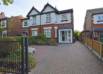 Thumbnail 4 bed semi-detached house for sale in Parrs Wood Road, Didsbury, Manchester