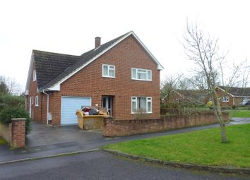 Thumbnail 4 bed detached house for sale in Holyrood Close, Trowbridge
