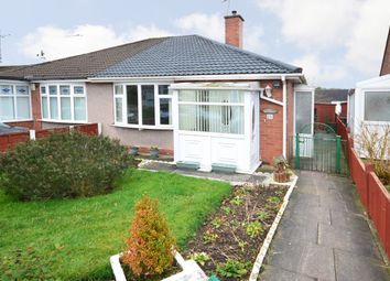 Thumbnail 2 bed semi-detached bungalow for sale in Stubbsfield Road, Newcastle Under Lyme, Stffordshire