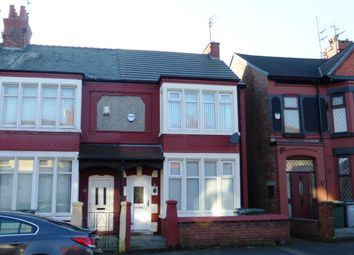 Thumbnail 3 bedroom property to rent in Belvidere Road, Wallasey