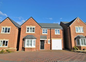 Thumbnail 4 bed detached house for sale in Arella Fields Close, Stanley Common, Derby