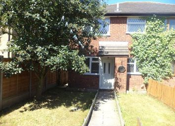 Thumbnail 1 bed town house to rent in Longhurst Close, Rushey Mead, Leicester