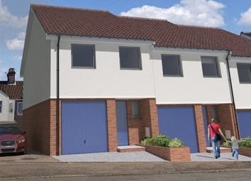 Thumbnail 3 bed town house for sale in North City, Norwich