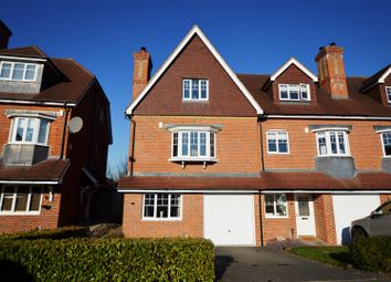 Thumbnail 5 bedroom end terrace house for sale in Lower Green Gardens, Worcester Park