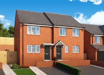 "Thumbnail 2 bed terraced house for sale in ""The Cedar"" at Manor Way, Peterlee"