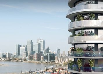 Thumbnail 1 bedroom flat for sale in Pump Tower, Royal Victoria Dock, London
