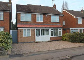 Thumbnail 4 bed detached house for sale in Thirlmere Road, Wigston, Leicester