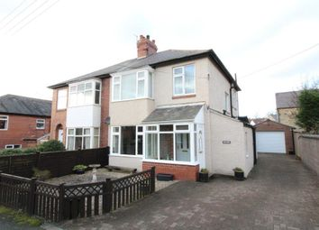 Thumbnail 3 bed semi-detached house for sale in Grange Avenue, Stamfordham, Newcastle Upon Tyne, Northumberland