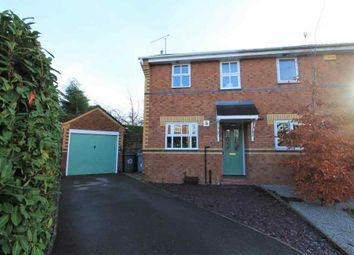 Thumbnail 2 bed semi-detached house for sale in Austen Close, Ettiley Heath, Sandbach