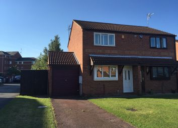 Thumbnail 2 bed semi-detached house to rent in The Copse, Hucknall, Nottingham