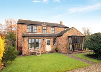 Thumbnail 4 bedroom detached house for sale in Church Lane, Elvington, York