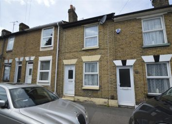 Thumbnail 2 bed terraced house for sale in St. Marks Houses, Saxton Street, Gillingham