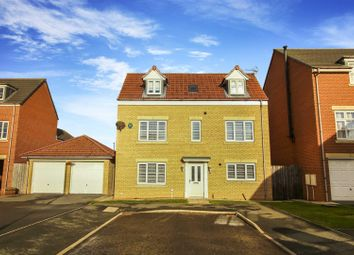 Thumbnail 4 bed detached house for sale in Dukesfield, Shiremoor, Newcastle Upon Tyne