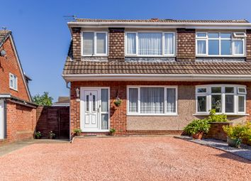 Thumbnail 3 bed semi-detached house for sale in Marlston Place, Runcorn, Halton