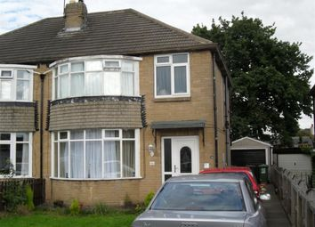 Thumbnail 3 bed semi-detached house to rent in Carr Manor View, Meanwood, Leeds