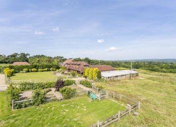 Thumbnail 4 bed equestrian property for sale in Street End Lane, Broad Oak, Heathfield, East Sussex