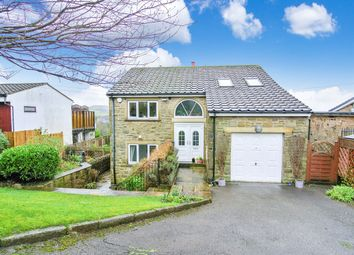 Thumbnail 4 bed detached house for sale in Blackmoorfoot, Linthwaite, Huddersfield
