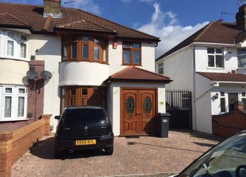 Thumbnail 3 bed end terrace house for sale in Byron Ave, Hounslow