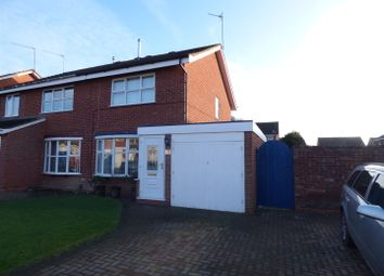 Thumbnail 2 bedroom semi-detached house for sale in Flaxley Close, Winyates Green, Redditch