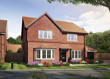 "Thumbnail 3 bedroom detached house for sale in ""The Hambledon"" at Amlets Lane, Cranleigh"